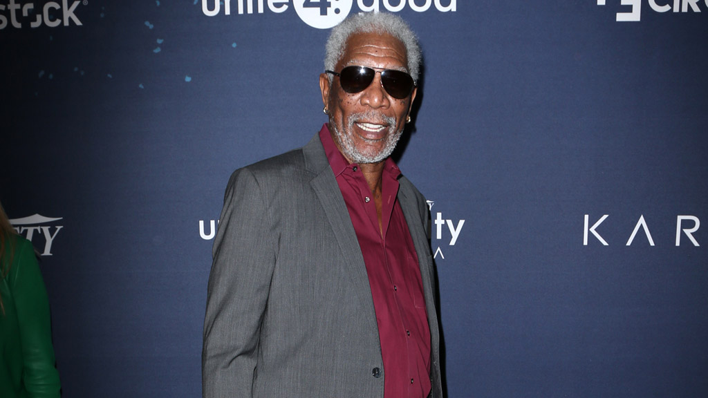 Morgan Freeman: Man braucht nur Courage (© Cover Media)