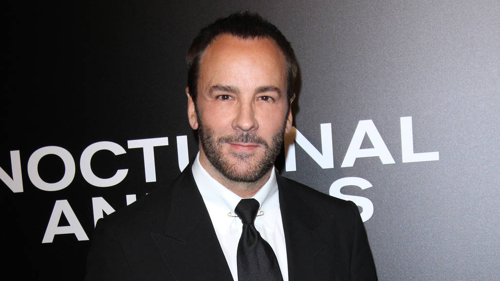 Tom Ford: Kleine Pause von den Fashion Weeks (© Adriana M. Barraza/WENN.com)